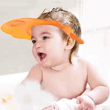 Why Must Every Mother Have This Adjustable Baby Bath Hat?